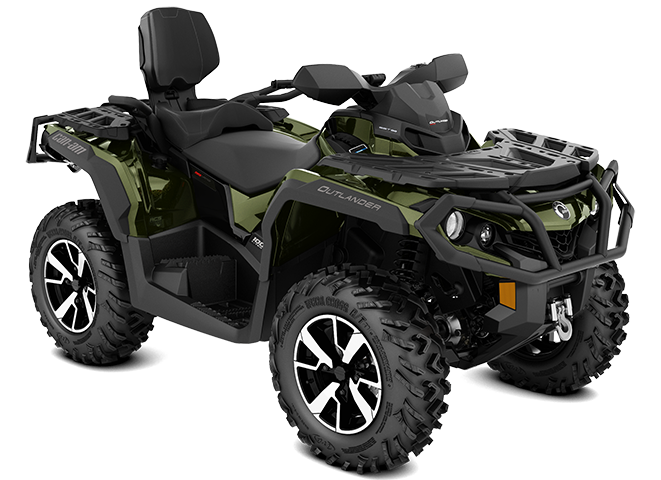 2019-Outlander-MAX-LIMITED-1000R-Boreal-green_3-4-front