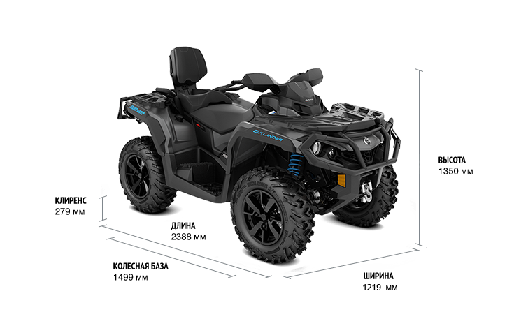 2020-Outlander-MAX-XT-1000R-Black-_-Can-Am-Red_3-4-front-spec-1