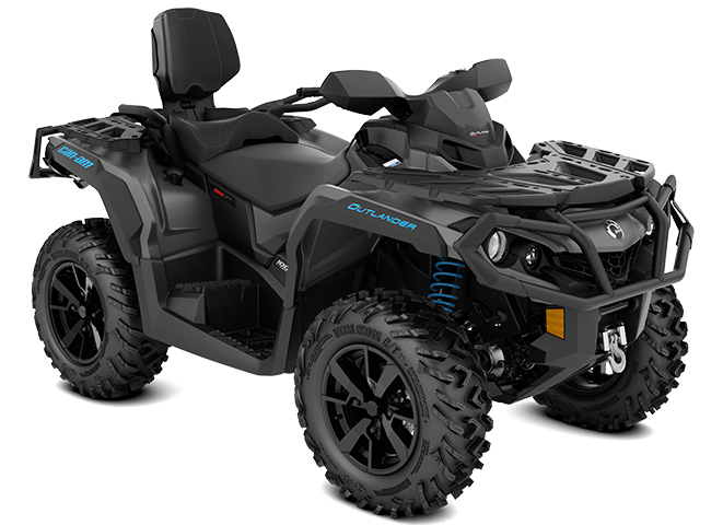 MY20-Outlander-MAX-XT-1000R-Iron-Gray_Octane-Blue_3-4-front